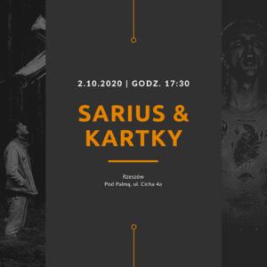 Sarius Kartky koncert
